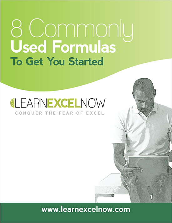 8 common excel formulas