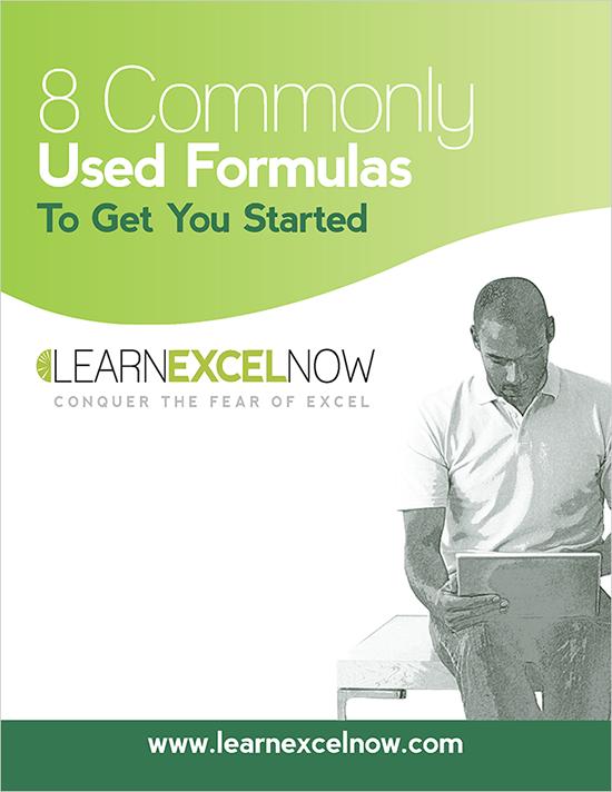 8 common excel formulas