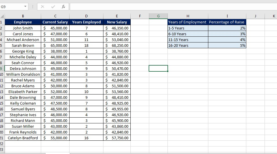 Removing Lines in Excel Image 1